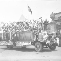 Australia float on British Day