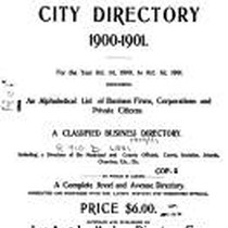 Los Angeles City Directory, 1900-1901