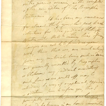 Correspondence to The Rev. Dr. Kippis from John Rayner