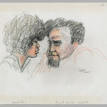 6/28/71 Angela Davis and Attorney Howard Moore Jr