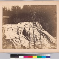 [Falls on the Colville (Mill River), 1860.]