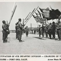 Activation of 4th Infantry Division - Changing of the colors - Fort ...