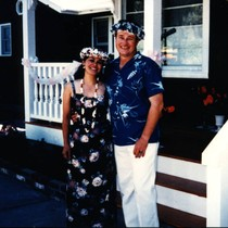 Vince and Patricia Whiting at their fifteen year wedding anniversary