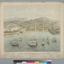 View of San Francisco [California] formerly Yerba Buena in 1846-7