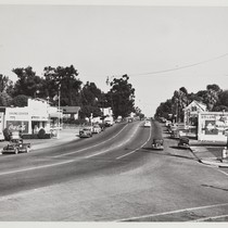 6th Street and California, looking East, circa 1948