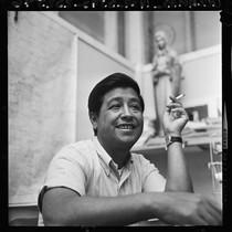 Cesar Chavez, portrait