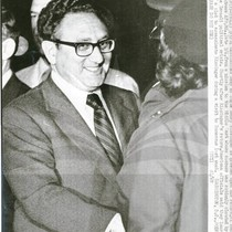 Henry Kissinger at Andrews Air Force Base
