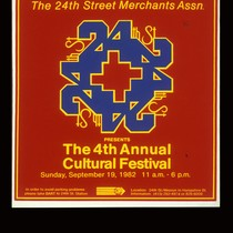 The 4th Annual Cultural Festival, Announcement poster for