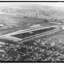 Aerial view of Grand Central Air Terminal, Glendale, 1929