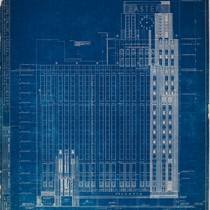 Curlett & Beelman: Eastern Columbia, Ninth Street elevation