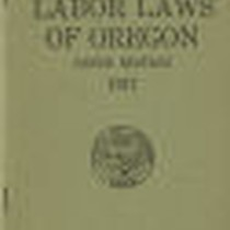 Digest of labor laws of Oregon