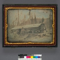 [Near Sugar Loaf Hill, 1852] (Detail - image side only.)
