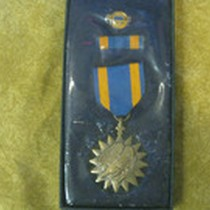 Case With the Air Medal Award Gustafsson Received, 1969