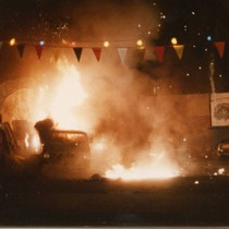 "Car crash stunt sequence from ""Bad Boys"" (6)"