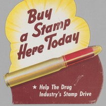 Buy a stamp here today: Help the Drug Industry's Stamp Drive
