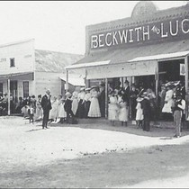 Beckwith and Sons General Store, Lancaster, California, 1910s