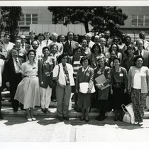 Group of attendees of the Sixth International Conference on AIDS