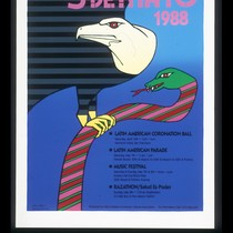 5 de Mayo 1988, Announcement Poster for