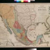 Mapa de los Estados Unidos de Mejico, segun lo organizado y definido ...