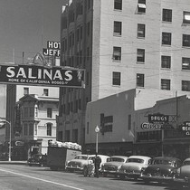 1 - Main Street, Salinas,California, LH12, © Billy Emery 1950. Candidly! This ...