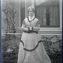 Ada Coy in costume