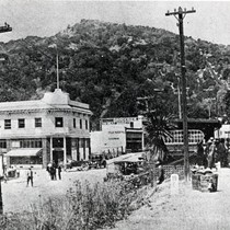 Downtown Fairfax, Marin County, California, circa 1925 [photograph]