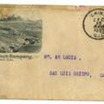 Envelope from Chino Ranch Company