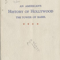 American's History Of Hollywood: The Tower Of Babel