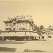 The Oaks. Residence of J. Parker Whitney, Rocklin, Placer Co., Cal