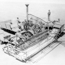 Early combine machinery