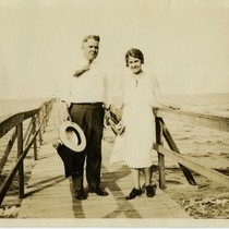 Carr, Helen S. and John Lyons, Chesapeake Beach, 1931