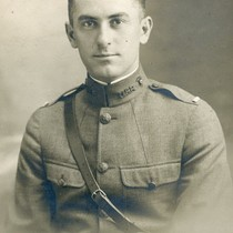 Clark R. Giles in uniform