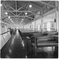 Camp Matthews, Mess Hall, (interior), Building No.249