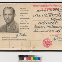 Alfred Tarski's Polish passport
