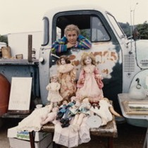 Marin City Flea Market, circa 1990 [photograph 021]