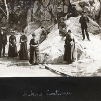 Hiking Party, about 1890