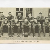 1930 Bear Cub basketball squad