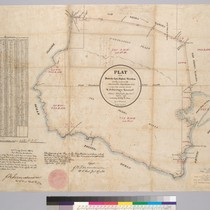 Plat of the Rancho Los Palos Verdes [Calif.] : finally confirmed to ...
