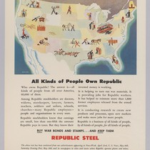 All Kinds of people own Republic: Republic Steel