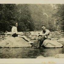 Goddard, Kathleen and unidentified, c. 1928