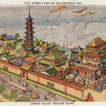 1939 World's Fair on San Francisco Bay - Chinese Village - Treasure ...
