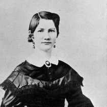 Ada Dougherty (1845-1866), daughter of James and Elizabeth (c. 1860s), photograph