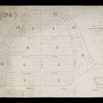 Map no. 1 of Angeleno Heights, Los Angeles City, California, March 1886