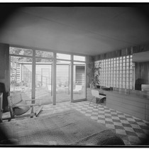 Turner, George, residence. Bedroom