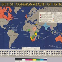 The British Commonwealth Of Nations: principal products