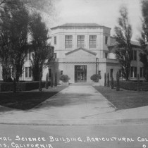 Animal Science Building, Agricultural College, Davis California