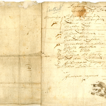 Financial records regarding Sir Thomas Lenthall