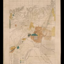 California State irrigation map: Pomona sheet, 1888