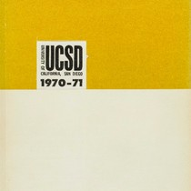 UC San Diego General Catalog, 1970-1971