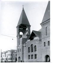 First Baptist Church, northwest corner of Telegraph Avenue and 22nd Street, after ...